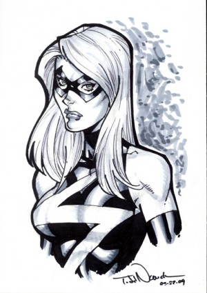 Ms. Marvel by Todd Nauck