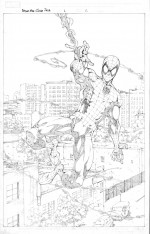 Spider-Man Clone Saga #1 page 1 pencils