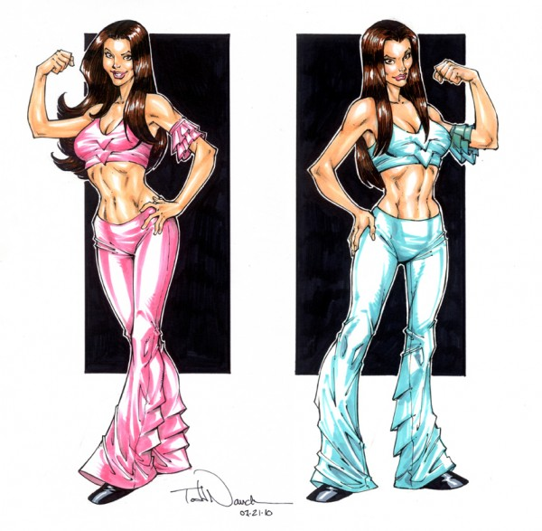 WWE Divas, the Bella Twins