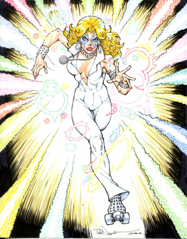 Dazzler: Disco Costume
