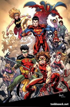 Young Justice Print 2009