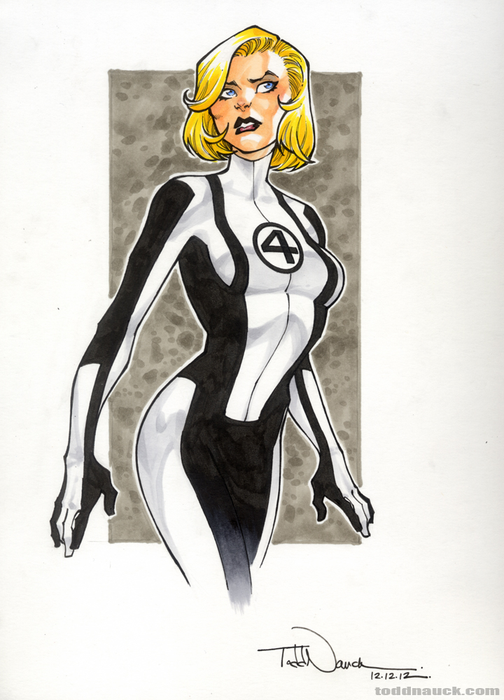 Fantastic Four The Art Of Todd Nauck